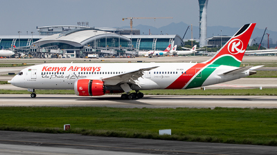 A picture of 5YKZH - Boeing 7878 Dreamliner - Kenya Airways - © Zongzha_Kaiguan