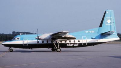 OY-SRR - Fokker F27-500 Friendship - Star Air