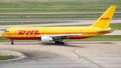 A picture of N653GT - Boeing 767231(BDSF) - DHL - © Ricardo Mungarro - MAS Aviation Press