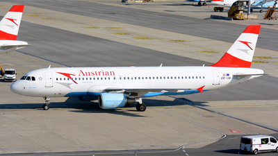 OE-LBI - Airbus A320-214 - Austrian Airlines (Tyrolean Airways)