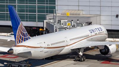 N24974 - Boeing 787-9 Dreamliner - United Airlines