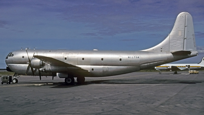N117GA - Boeing C-97G Stratofreighter - Private