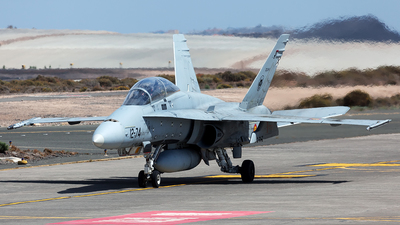 CE.15-11 - McDonnell Douglas EF-18B+ Hornet - Spain - Air Force