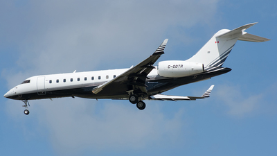 C-GDTR - Bombardier BD-700-1A10 Global 6000 - Private