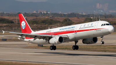 B-6838 - Airbus A321-231 - Sichuan Airlines
