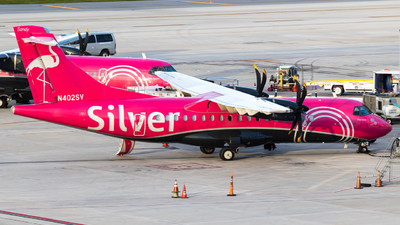 A picture of N402SV - ATR 42600 - Silver Airways - © Alex Crail