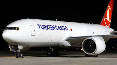 A picture of TCLJP - Boeing 777FF2 - Turkish Airlines - © Martin Nimmervoll