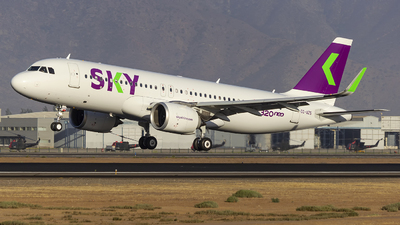 CC-AZS - Airbus A320-251N - Sky Airline