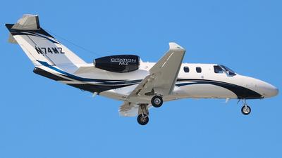 A picture of N74MZ - Cessna 525 Citation M2 - [5251074] - © JAKA