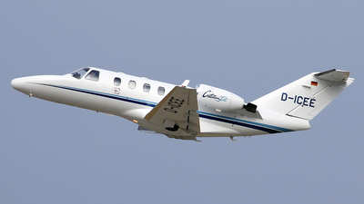 D-ICEE - Cessna 525 CitationJet 1 - Private