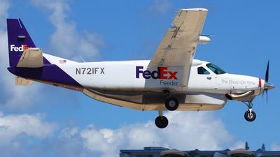 A picture of N721FX - Cessna 208B Grand Caravan - FedEx - © Andreas Fietz