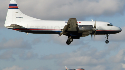 N991FL - Convair CV-580 - IFL Group