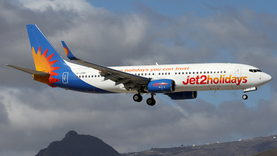 A picture of GJZBP - Boeing 7378MG - Jet2 - © Alfonso Solis