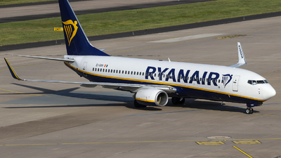 A picture of EIDAN - Boeing 7378AS - Ryanair - © Jan Born Photography
