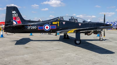 ZF290 - Short Tucano T.1 - United Kingdom - Royal Air Force (RAF)