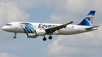 A picture of SUGFJ - Airbus A320251N - EgyptAir - © Bjoern Huke