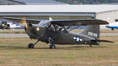 N121MC - Stinson L-5 Sentinel - CAF Swiss Wings