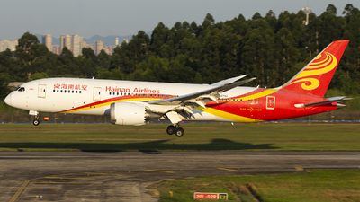 A picture of B2723 - Boeing 7878 Dreamliner - Hainan Airlines - © XieTM