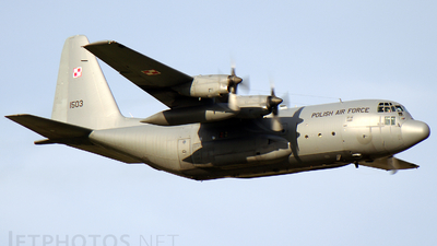 1503 - Lockheed C-130E Hercules - Poland - Air Force