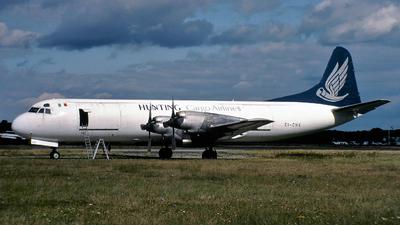 EI-CHX - Lockheed L-188C(F) Electra  - Hunting Cargo Airlines
