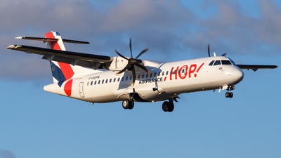 F-HOPN - ATR 72-212A(600) - HOP! for Air France