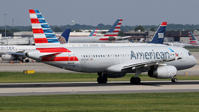 N680AW - Airbus A320-232 - American Airlines