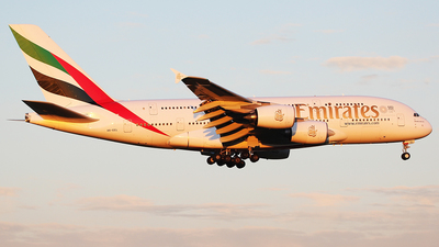 A6-EEL - Airbus A380-861 - Emirates