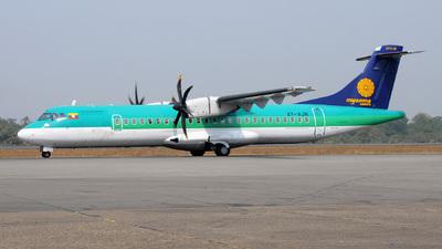 XY-AJN - ATR 72-212A(500) - Myanma Airways
