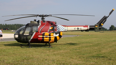 87-92 - MBB Bo105P1 - Germany - Army