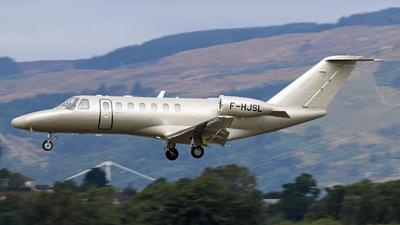 F-HJSL - Cessna 525 Citationjet CJ3 - Ixair