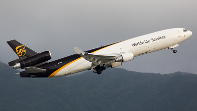 A picture of N278UP - McDonnell Douglas MD11F - UPS - © Tommy Yeung