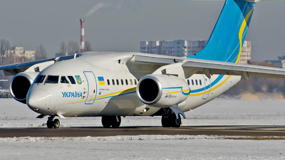 UR-UKR - Antonov An-148-100B - Ukraine - Government