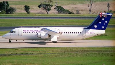 VH-EWM - British Aerospace BAe 146-300 - Ansett Australia