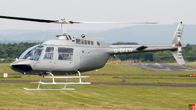G-BKEW - Bell 206B-3 JetRanger III - Private