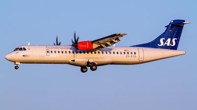 ES-ATG - ATR 72-212A(600) - Scandinavian Airlines (Nordica)