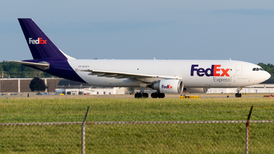 A picture of N650FE - Airbus A300F4605R - FedEx - © Andrew Wu