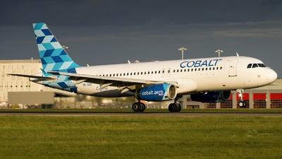 5B-DDC - Airbus A320-232 - Cobalt Air