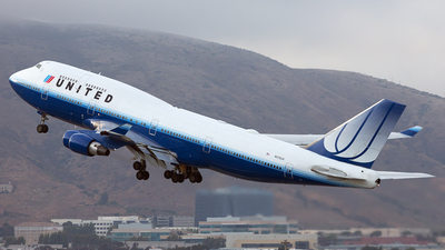 N178UA - Boeing 747-422 - United Airlines