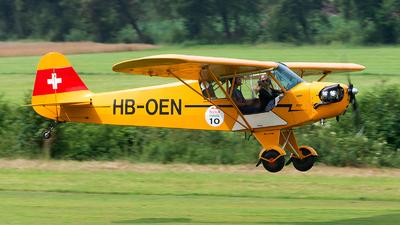 A picture of HBOEN - Piper J3C65 Cub - [11842] - © Alex
