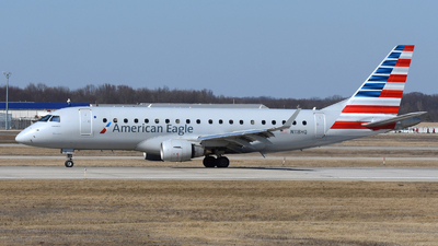 A picture of N118HQ - Embraer E175LR - American Airlines - © DJ Reed - OPShots Photo Team