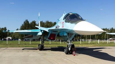 10 - Sukhoi Su-34 Fullback - Russia - Air Force
