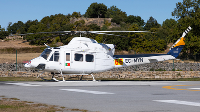 EC-MYN - Bell 412SP - Pegasus Aviation