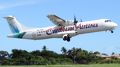 9Y-TTC - ATR 72-212A(600) - Caribbean Airlines