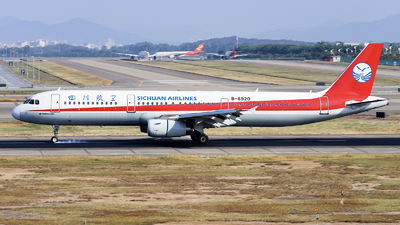 A picture of B6920 - Airbus A321231 - Sichuan Airlines - © nibrage