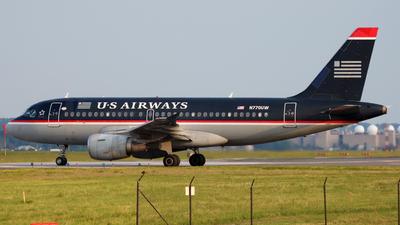 N770UW - Airbus A319-112 - US Airways