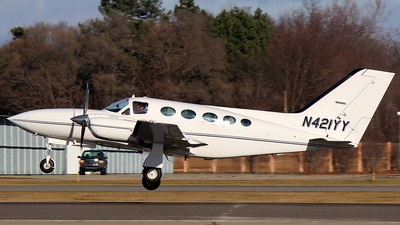A picture of N421YY - Cessna 421C Golden Eagle - [421C0872] - © GregMac