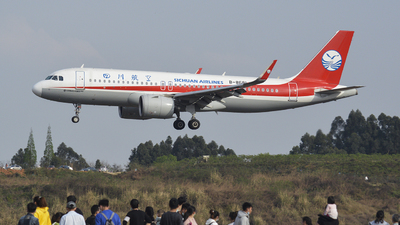 A picture of B8681 - Airbus A320271N - Sichuan Airlines - © 02RDS