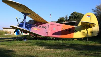 YU-BPO - PZL-Mielec An-2R - Ciklonizacija DDD - Novi Sad