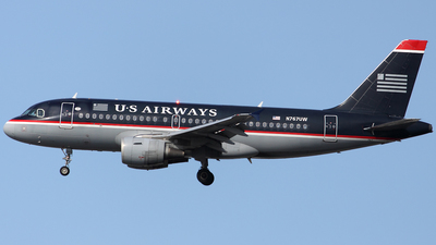 N767UW - Airbus A319-112 - US Airways