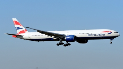 G-STBA - Boeing 777-336ER - British Airways